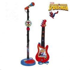 Set chitara si microfon - Spider-Man