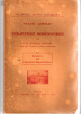 Traite Complet de Therapeutique Homoeopathique -  Francois Cartier - Paris 1929