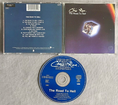 Chris Rea - The Road to Hell CD (1989) foto