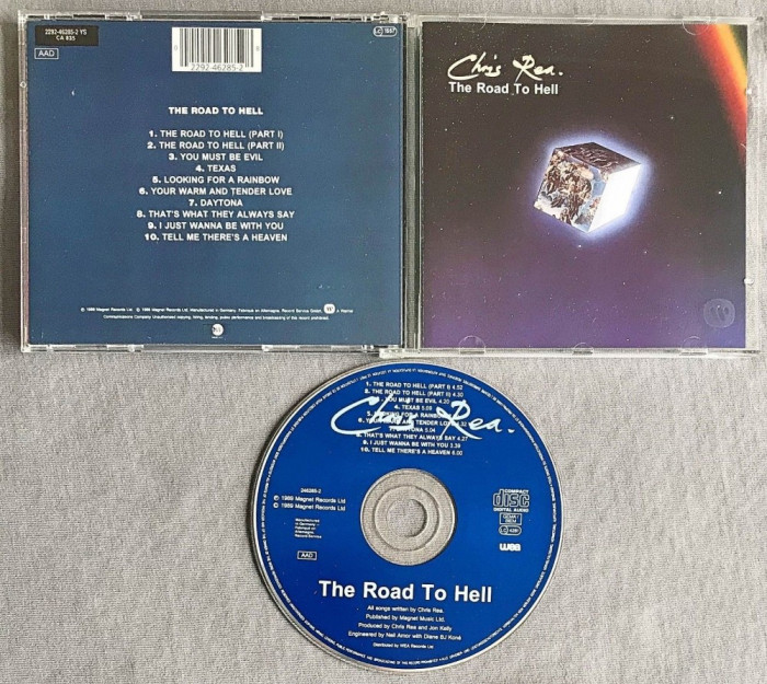Chris Rea - The Road to Hell CD (1989)