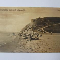 Carte postala Basarabia-Dacia(Budachi Cordon) circulata la Balti 1930, Printata