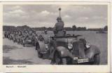 bnk cp Germania - Carte postala Wermacht 1939 - Marsch -Marsch!