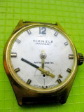 9358-Kienzle Markant ceas vechi mana barbat nefunctional made in Germany.