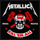 Patch Metallica - Metal Militia