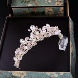 Diadema/tiara/coronita roz