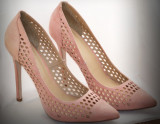 Pantofi stiletto, ASOS Marime 39, Piersica, Cu toc