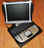 "PANASONIC TOUGHBOOK CF-19 Mk5 LAPTOP MILITAR 10.1"" TOUCHSCREEN Diagnoza GARANTIE, Intel Core i5, 6 GB, 500 GB"