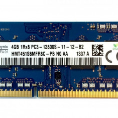 Memorie Laptop SODIMM SKhynix 4GB DDR3 PC3-12800S 1600Mhz APPLE 1.5V
