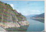 Bnk cp Vidraru - Lacul de acumulare - circulata, Printata