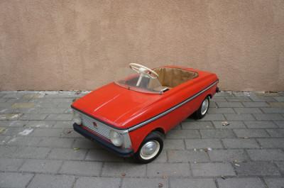 Masinuta cu pedale din tabla Moskvitch 1985 stare foarte buna! foto