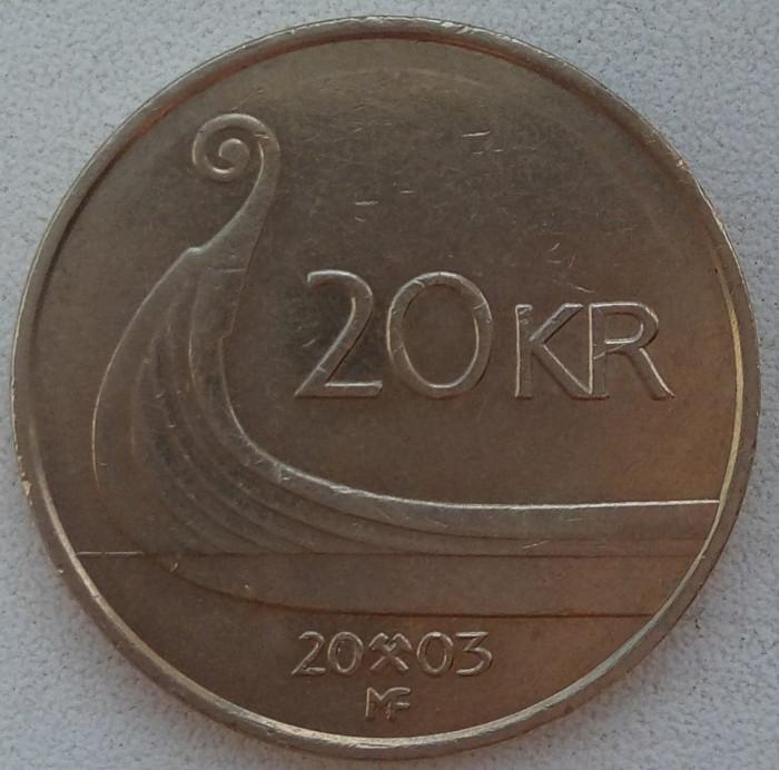 Regatul Norvegiei - 20 Kroner 2003