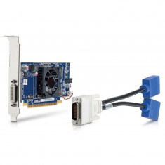 PLACA VIDEO HP RADEON HD 6350 512MB DDR3, 2 X VGA DMS-59, PCI Express, 512 MB, AMD