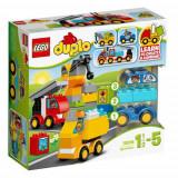 Set de constructie LEGO Duplo Primele mele Masini si Camioane
