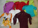 Lot de 13 produse dama, S. PRET MODEST! 5 bluze, 4 fuste, 3 tricouri, 1 palton, S/M