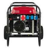 Honda Generator monofazat , ECMT7000K1 GV, 7 kVA, 11 CP, 97 dB, cu roti