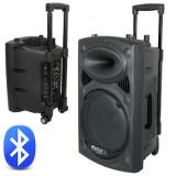Ibiza Boxa Portabila Ibiza, 200W, 8 inch/20cm, USB/MP3/Bluetooth