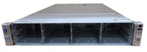 Server HP ProLiant DL380e G8, Rackabil 2U, 2 Procesoare Intel Octa Core Xeon E5-2450L 1.8 GHz, 64 GB DDR3 ECC Reg, 12 Bay-uri de 3.5inch, Raid Contr