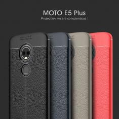 Husa / Bumper Antisoc model PIELE pt Motorola Moto E5 Plus / Moto E Plus, Alt model telefon Lenovo, Argintiu, Auriu, Negru, Roz, Alt material