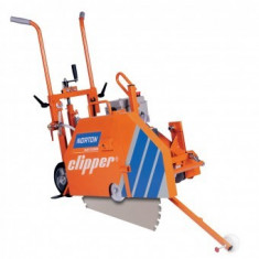 Masina de taiat asfalt beton Norton Clipper CS7.5e, disc 800mm, 400V, 7.5 kW