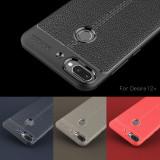 Husa / Bumper Antisoc model PIELE pentru HTC Desire 12+ / Desire 12 plus