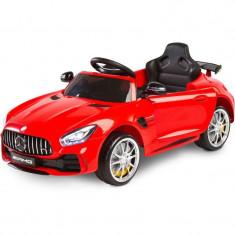 Masinuta electrica cu telecomanda Toyz Mercedes AMG GTR 2x6V Red