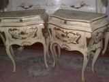 Noptiere bombe,stil baroc venetian/rococo/shabby chic/vintage, Paturi si seturi dormitor, Dupa 1950