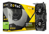 Placa video Zotac GeForce GTX 1070 Ti AMP Edition 8GB GDDR5