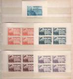 1945 Romania,LP 166 a,167-Fundatia Carol I (bloc de 4 si colita)-MNH, Regi, Nestampilat