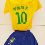 Echipament fotbal pentru copii Brazilia Neymar Jr marimi mici 1 si 2 ani, Alta