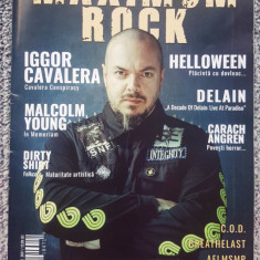 Revista rock Maximum Rock, Dirty Shirt, Helloween, Iggor Cavalera, Malcolm Young