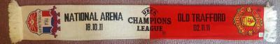 Fular original Champions League Manchester United - Otelul Galati foto