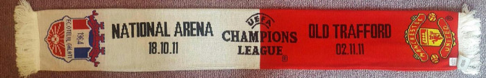 Fular original Champions League Manchester United - Otelul Galati