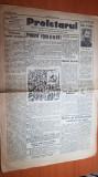 ziarul proletarul 1-15 martie 1930-lupta eroica a muncitorilor la uzina lemaître