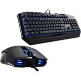 Kit Gaming Tastatura + Mouse Cooler Master TTCS3030KKMF1