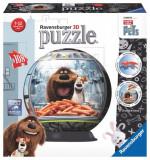 PUZZLE 3D VIATA SECRETA A ANIMALELOR, 108 PIESE, Ravensburger
