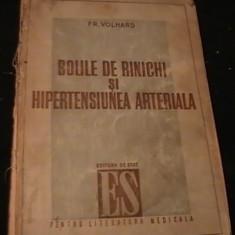 BOLILE DE RINICHI SI HIPERTENSIUNEA ARTERIALA-FR. VOLHARD-292 PG A 4-, Alta editura