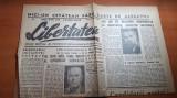 Ziarul libertatea 15 noiembrie 1946-petru groza prin ministru al guvernului