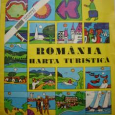 Romania Harta Turistica supliment 1972