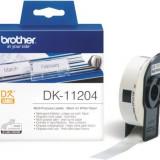 Hartie foto Brother Etichete hartie Brother DK11204 pentru etichetatoare
