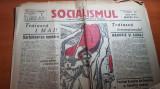 ziarul socialismul 1 mai 1927-traiasca 1 mai sarbatoarea noastra