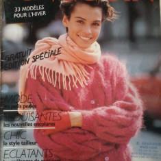 Revista de tricotaje Pingouin no. 89 (lb. franceza)