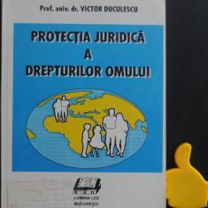 Protectia juridica a drepturilor omului Victor Duculescu