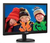 Monitor LED Philips 203V5LSB26, 19.5 inch, 1600 x 900 px, negru