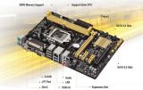 Placa de baza Asus H81M-C, socket LGA1150, chipset Intel H81, mATX