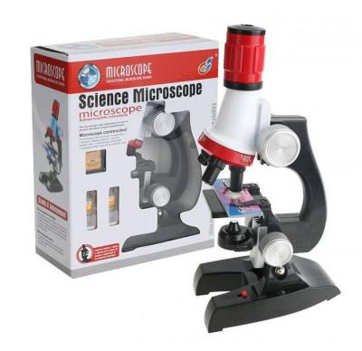 Microscop de jucarie pentru copii cu accesorii C2121 foto