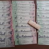 Set - banderola - 30 bancnote pentru copii - Germania