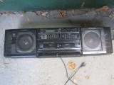 Dublu radio casetofon fisher original neprobat pret de defect are boxe nu colet