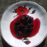 Dulceata de cirese rosii amare