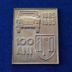 Placheta ARO - 1985 - Centenarul intreprinderii - medalie