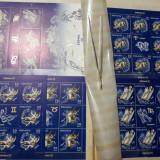 LP 1900a si 1900e / ZODIAC (I)  2011 / Set de 6 minicoli + Bloc de 6 timbre MNH, Nestampilat